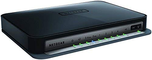 NETGEAR N750 Dual Band 4 Port Wi-Fi Gigabit Wireless Router